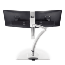 Load image into Gallery viewer, Innovative Ella Next Generation Articulating Dual Monitor Arm Mount-Monitor Arms-Innovative-Ergo Standing Desks