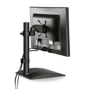 Innovative 9109-S Flat Panel Monitor Stand-Monitor Arms-Innovative-Vista Black-Ergo Standing Desks