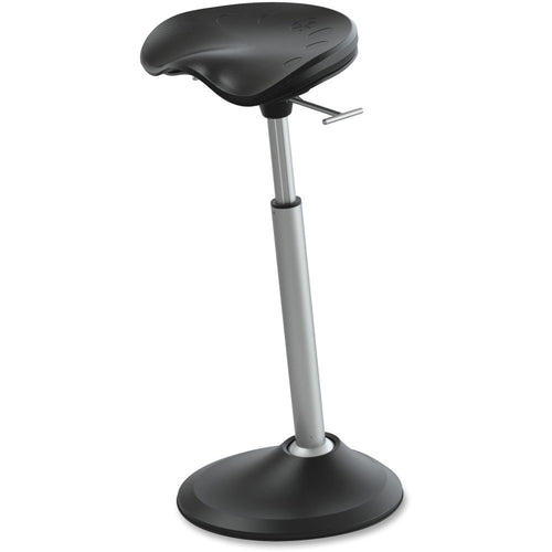 Safco Focal Upright Mobis II Standing Desk Stool-Ergonomic Chairs-Safco-Black-Ergo Standing Desks