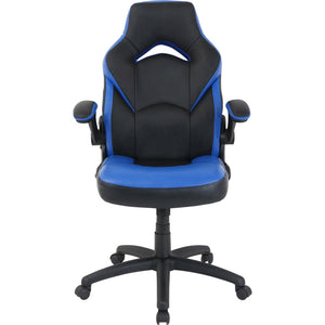 Lorell Bucket Seat High Back Gaming Chair-Gaming Chairs-Lorell-Ergo Standing Desks