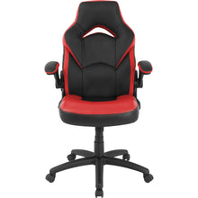 Load image into Gallery viewer, Lorell Bucket Seat High Back Gaming Chair-Gaming Chairs-Lorell-Ergo Standing Desks