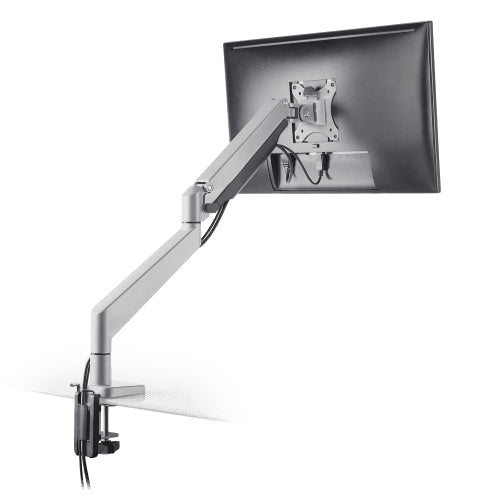 Innovative Envoy Articulating Single Monitor Arm Mount-Monitor Arms-Innovative-Silver-Ergo Standing Desks