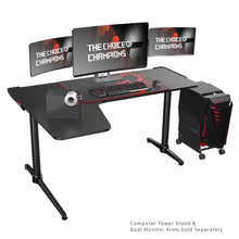 Load image into Gallery viewer, Eureka Ergonomic L60 L-Shaped PC Gaming Desk-Gaming Desks-Eureka Ergonomic-Black-Ergo Standing Desks