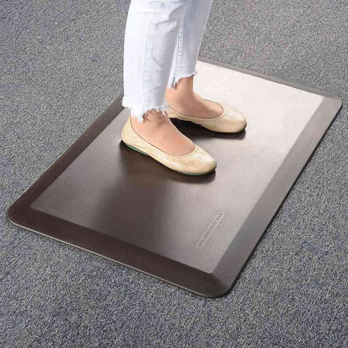 Eureka Ergonomic Standing Desk Anti-Fatique Comfort Floor Mat-Standing Desk Mat-Eureka Ergonomic-Brown-Ergo Standing Desks