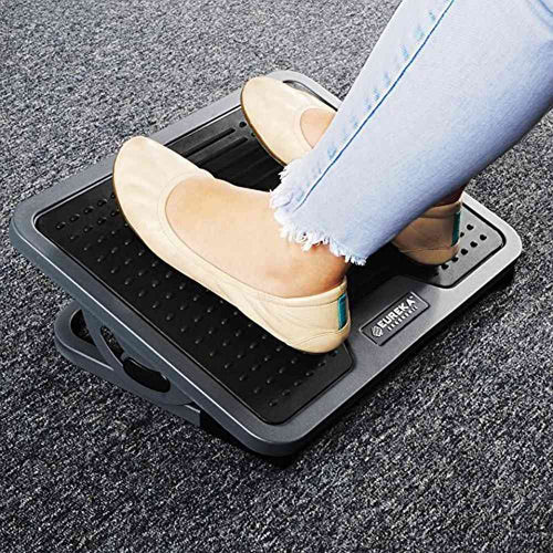 Eureka Ergonomic Adjustable Under Desk Foot Rest-Foot Rest-Eureka Ergonomic-Gray-Ergo Standing Desks