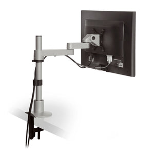 Innovative 9112-S-FM Articulating Arm Single Monitor Pole Mount-Monitor Arms-Innovative-Ergo Standing Desks
