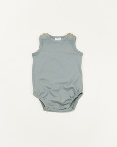 bubble onesie || sage