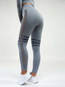 Aphrodite High Waist Seamless Leggings Grey
