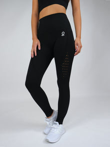 Clio Seamless High Waist Leggings Black