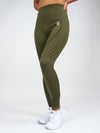 Clio Seamless High Waist Leggings Khaki