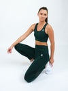 Electra Seamless High Waist Leggings Green
