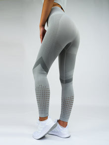 Electra Seamless High Waist Leggings Grey
