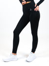 Hera Seamless High Waisted Leggings with crystal logo