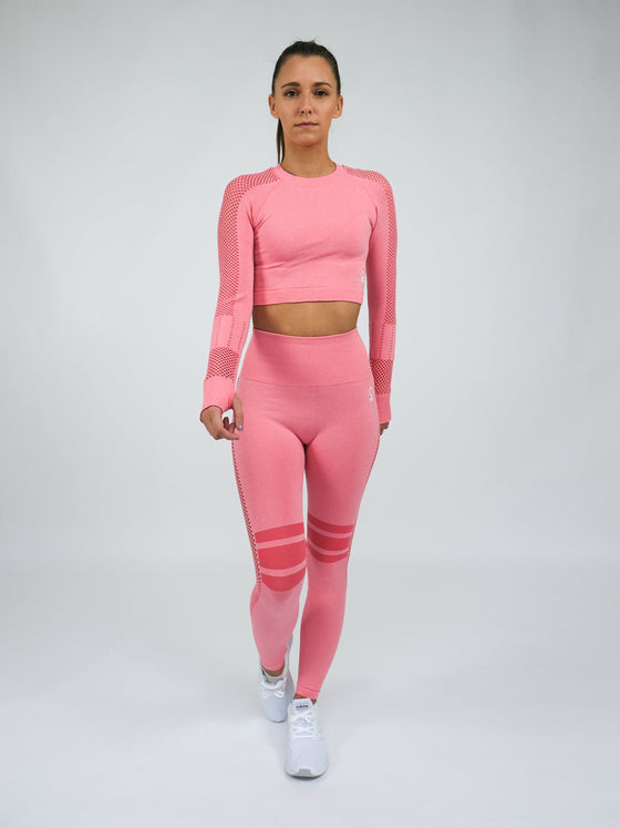 Aphrodite High Waist Seamless Leggings Pink