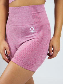 Peitho Seamless High Waisted Shorts, Pink