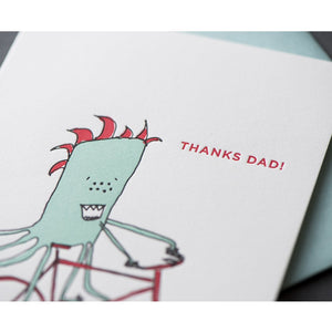 Card: Father's Day Monster
