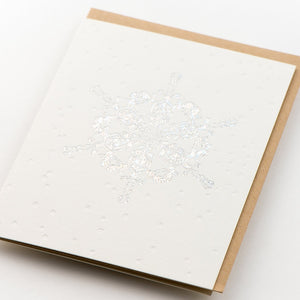 Card Folder Set: Holiday Snowflakes (2 each of 3 designs)