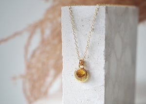 Necklace - Horizon - Gold Filled 18""