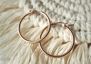 Earrings - Gravity Hoops (Extra Large)