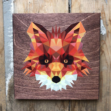 Load image into Gallery viewer, Geometric Fox