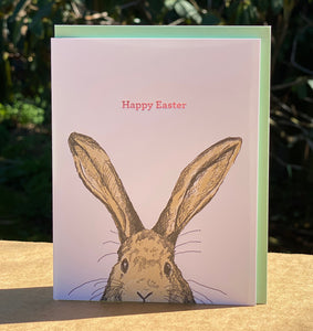 Card: Happy Easter Rabbit (Assorted Foils)