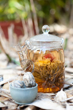 Load image into Gallery viewer, Flowering Tea Pyramid