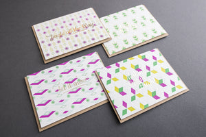 Box Set: Holiday Retro (Set of 8, 4 designs) (A1 Size)