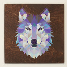 Load image into Gallery viewer, Geometric Wolf