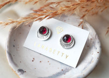 Load image into Gallery viewer, Earrings - Sterling Silver Horizon