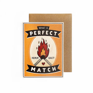What A Perfect Match Card