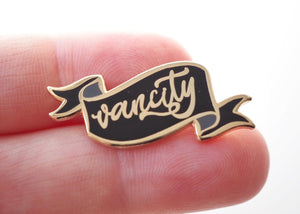 Lapel Pin - Vancity Banner - Black