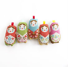 Load image into Gallery viewer, Lavender Matroyshka Doll