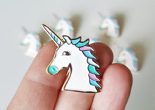 Load image into Gallery viewer, Lapel Pin - Unicorn - Multiple Colors