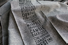Load image into Gallery viewer, West Side Bus Scroll Tea Towel