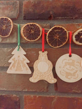 Load image into Gallery viewer, Woodland Festivities Christmas Ornaments
