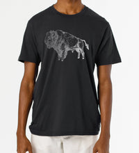 Load image into Gallery viewer, Bison Handprinted Unisex T-Shirt