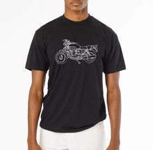 Load image into Gallery viewer, Moto Unisex Hand Printed T-Shirt