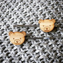Load image into Gallery viewer, Little Bear Hair Clips