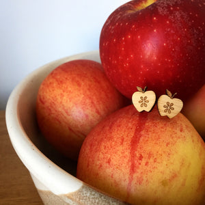 Fresh Apple Earrings