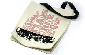 Canadian Icons Railcar Shopping Bag