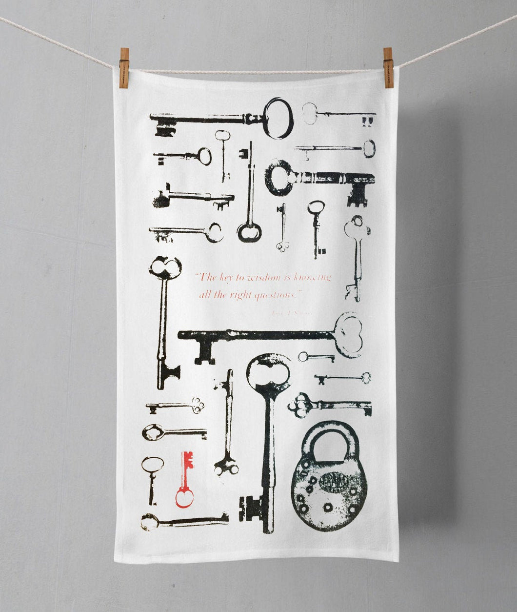 Key Tea Towel