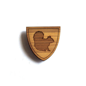 Smart Squirrel Pin