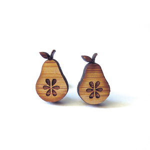 Fresh Pear Earrings