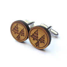 Load image into Gallery viewer, Fresh Forest Cufflinks
