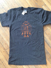 Load image into Gallery viewer, Robot Unisex Hand printed T-shirt