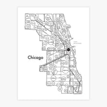 Load image into Gallery viewer, City Themed Letterpress Art Prints