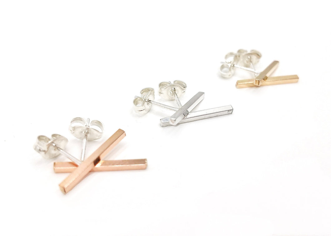 Earrings - Inertia Post Earrings