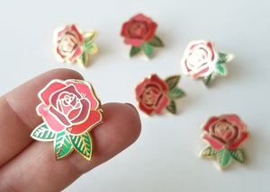 Lapel Pin - Red Rose