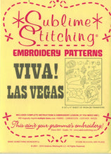 Load image into Gallery viewer, Sublime Stitching Embroidery Patterns