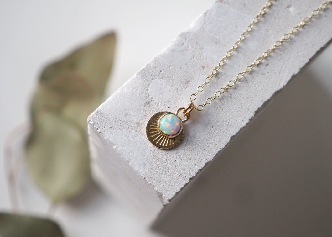 Necklace - Horizon - Gold Filled 18